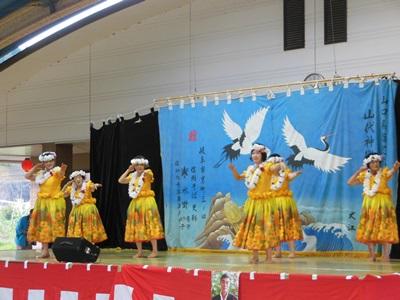 4.本郷フラダンス教室 真珠貝の歌